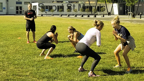 Moov Fitness Group exercise