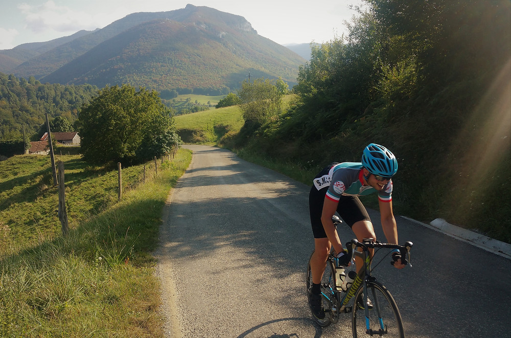 Cycling strong in the Pyrenees