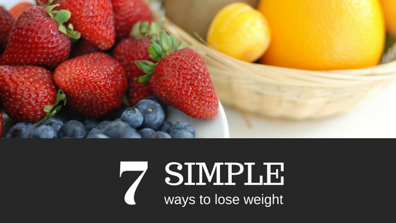7 Simple ways to lose weight