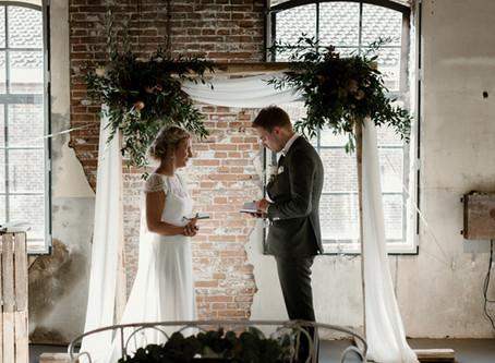 Bruiloft styling Annelien & Hans