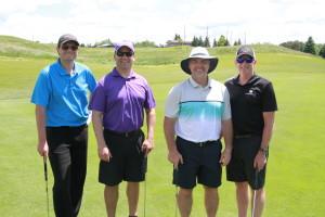 With Mayor Lehhan, Rob Desroches (Waypoint) & Jim Mayne (Honeywell)