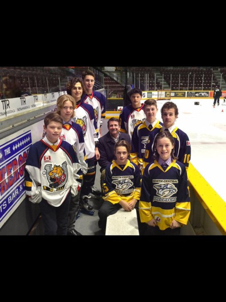 Barrie Colts AAA and North Central AAA Players