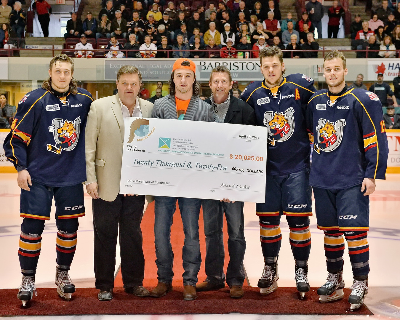 March Mullet and Barrie Colts