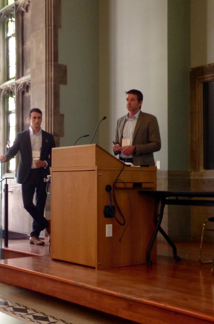 Presenting at University of Toronto