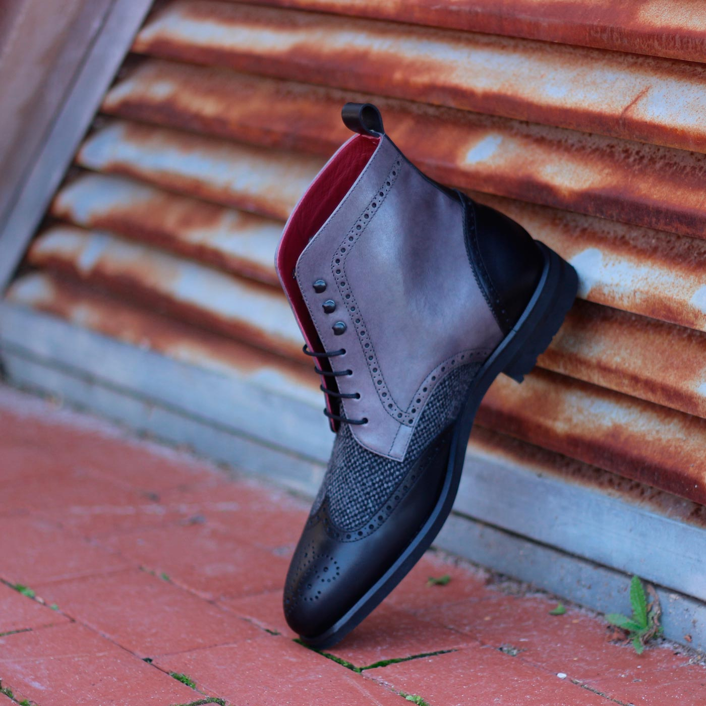 custom military boot