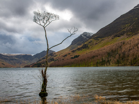 The Lakes: Derwent Water, Buttermere and Wastwater.