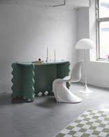 Curvy Desk Green