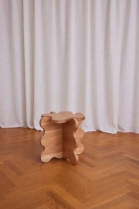 Curvy Table Mini Oak