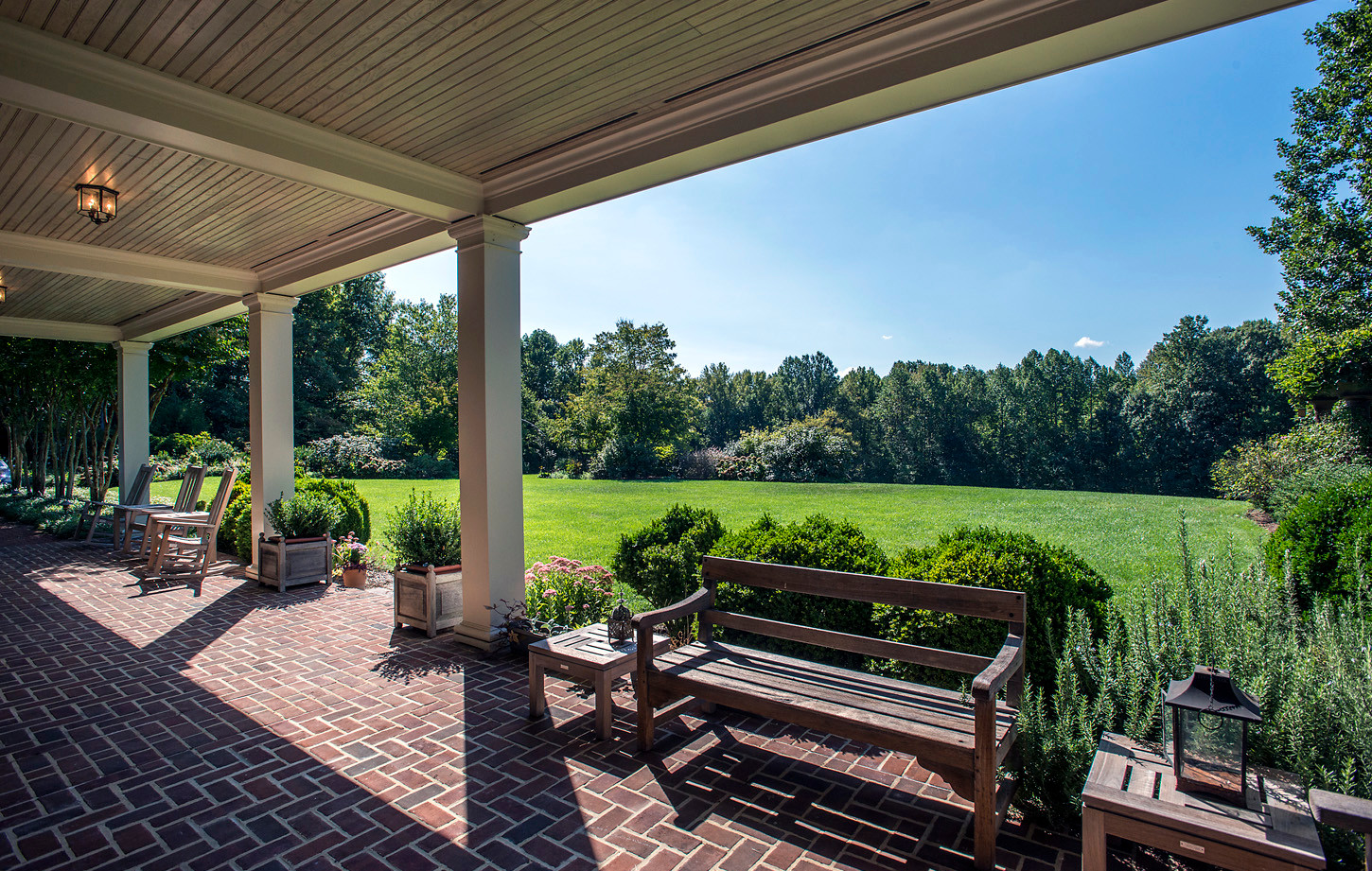 """""""South Porch"""" 1st Level Porch off Back of House"""