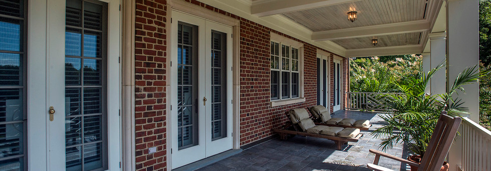 2nd Level Porch - Back of House