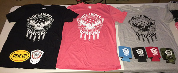 Oklahoma Uprising Merchandise