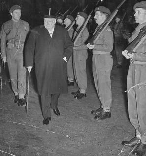 With Winston Churchill