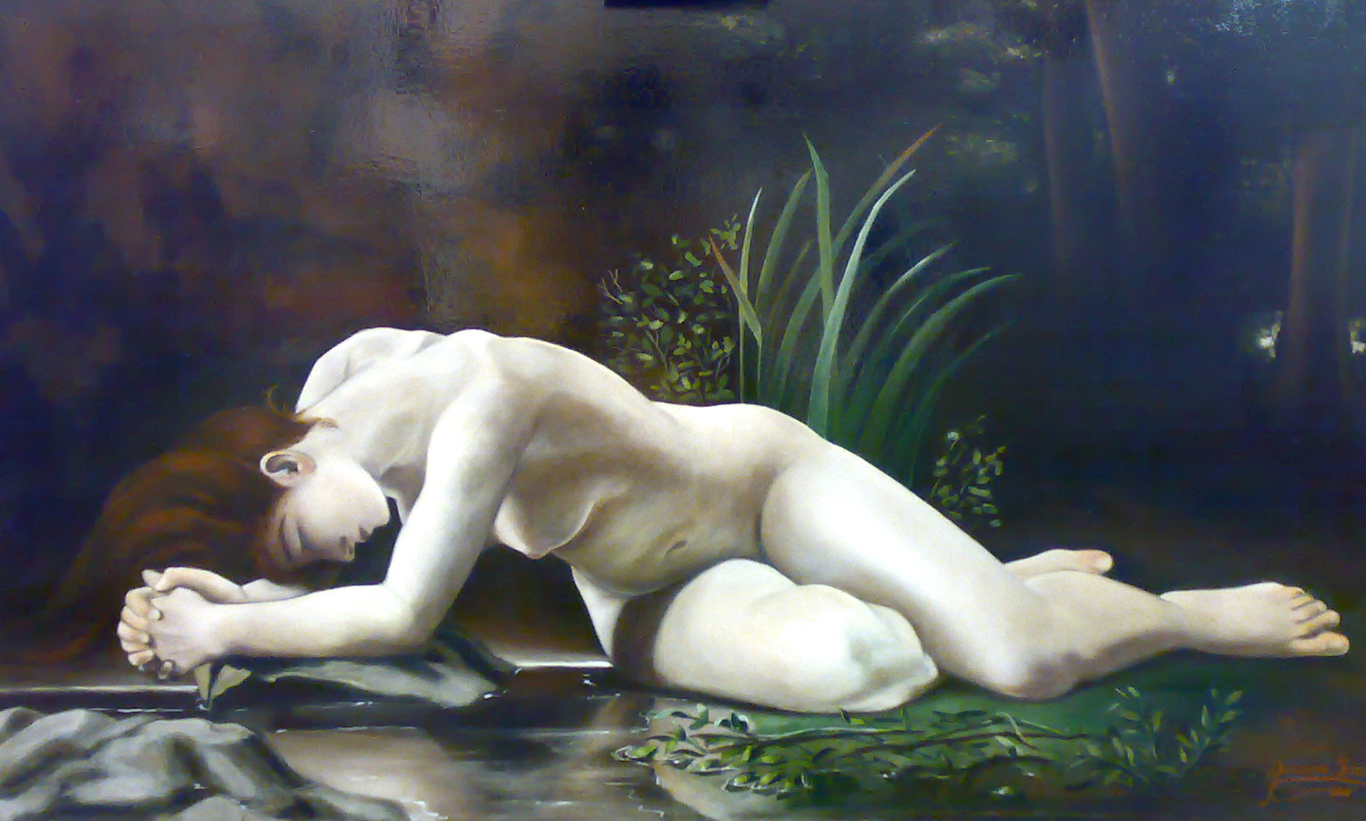 Studio: Tribute to Bouguereau. 2006