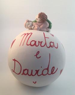 Marta e Davide.