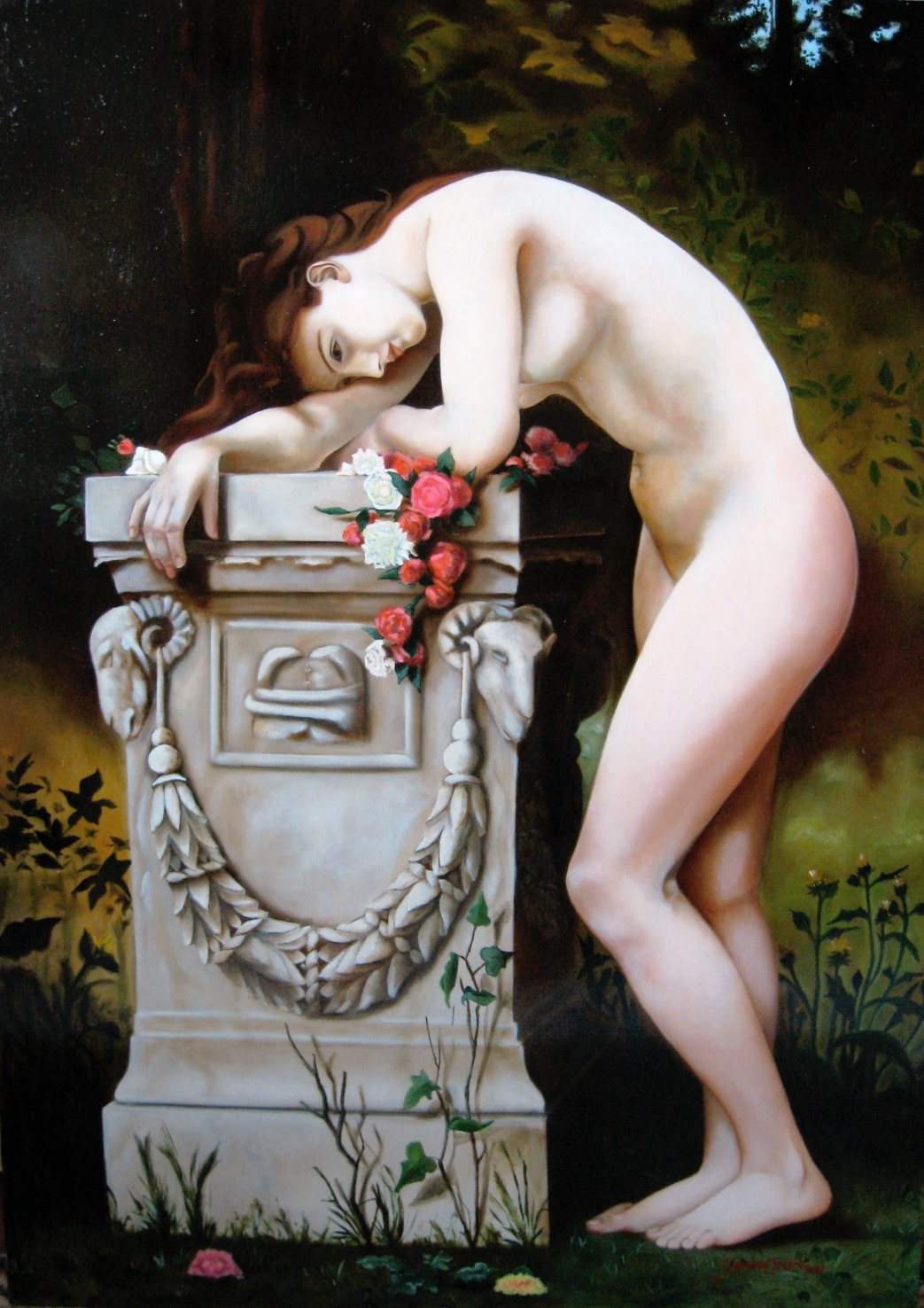 Studio: Tribute to Bouguereau. 2008