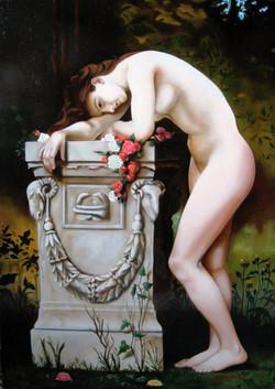Studio: Tribute to Bouguereau. 2008