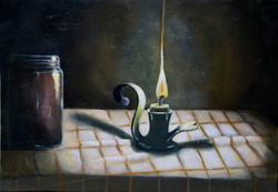 Candle light. 2010.