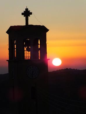 Sunrise from village of K