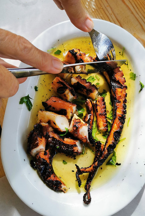 Octopus the Greek Way