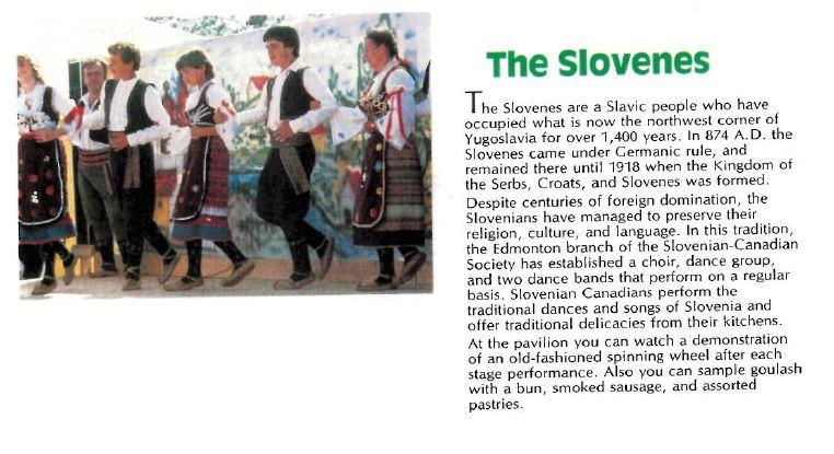 Slovenes 1984