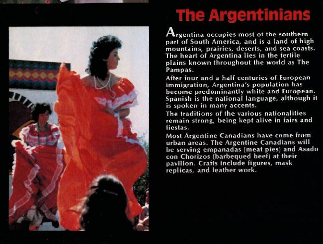 Argentinians 1984