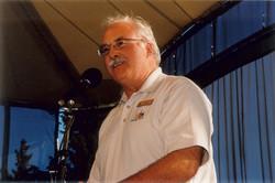 Past President Ian Taylor