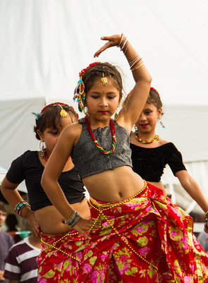 Young Indian Dancers