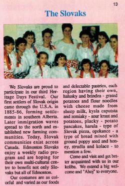 Slovaks 1988