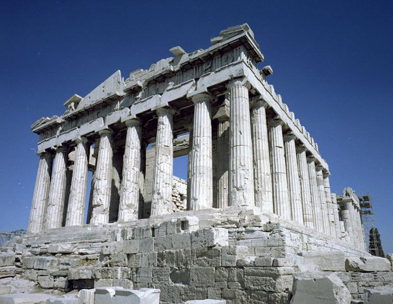 Greek Pavilion The Parthenon in Athens G