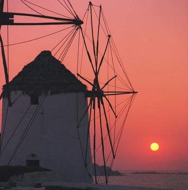 Mykonos Sunset by Steve M