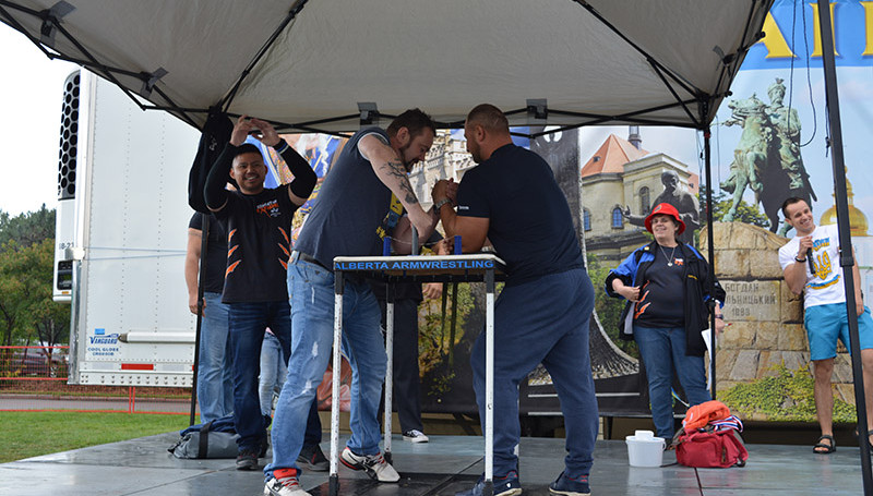 2017-Annual Heritage Arm Wrestling compe