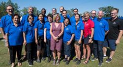 EHFA Board of Directors with Premier Rachel Notley