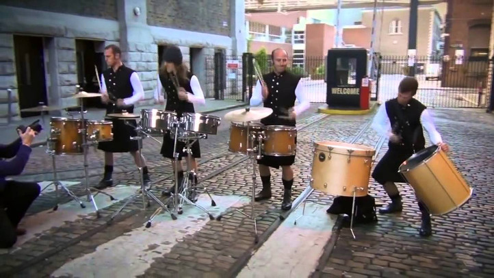 The Celtic Drummers