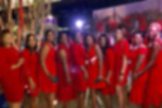 Red Dress Party JDrake SHarrington SNowl