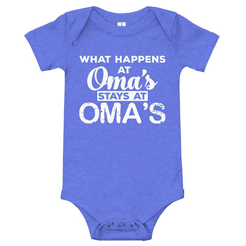 It stays at Oma's!