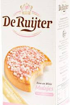 DeRuijter Anise Sprinkles - Pink & White 280g