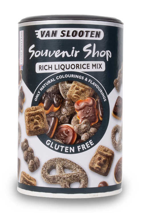 Van Slooten Gluten Free Licorice Mix