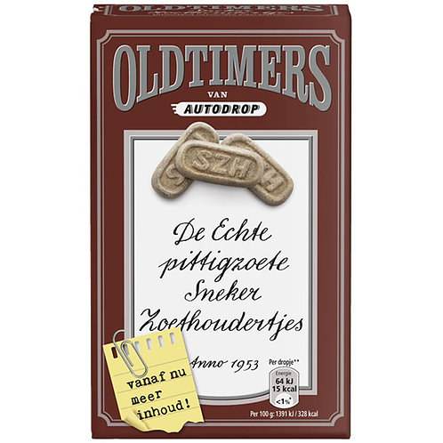 Oldtimers Zoethoudertjes