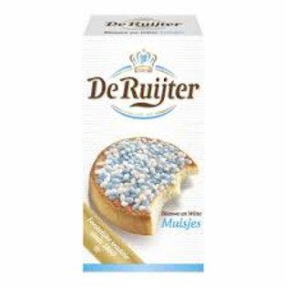 DeRuijter Anise Sprinkles - Blue & White 280g