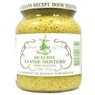 De Echte Zaanse Coarse Mustard 335g