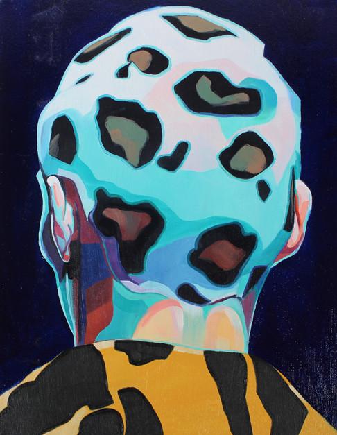 Leopard head 1/3