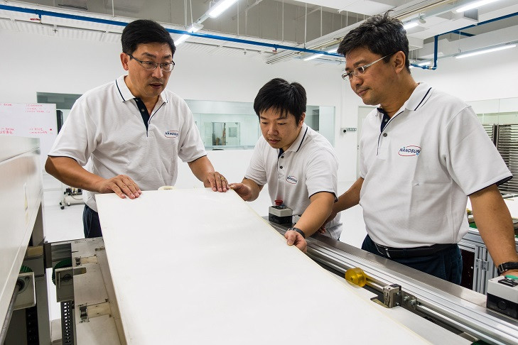 NTU spin-off launches Singapore's first 3D-printing plant for water filtration membranes