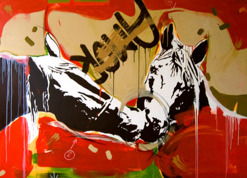 """Amor Equino"" Painting"