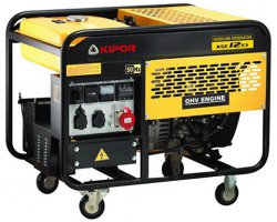 Генератор бензиновый KIPOR KGE12E3