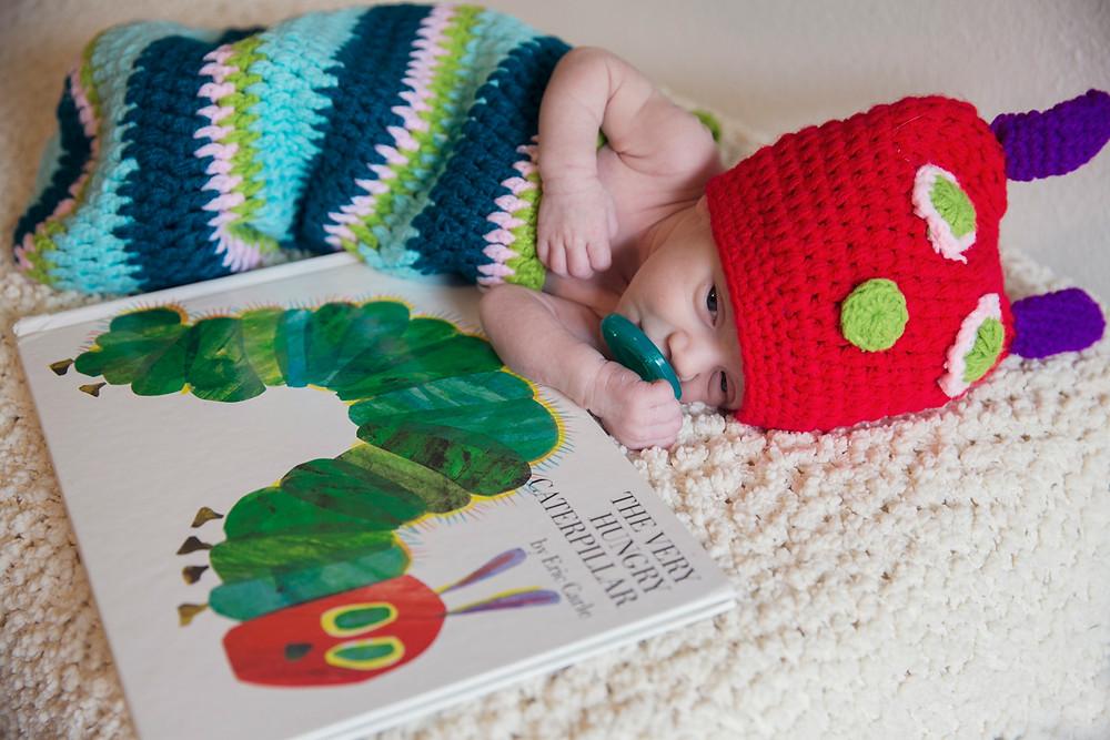 Newborn caterpillar