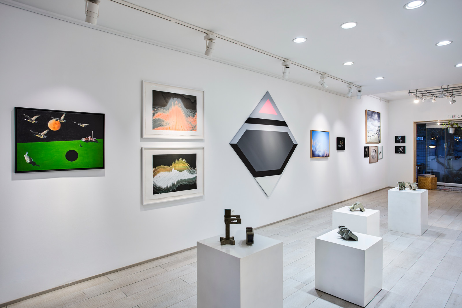 D Art Exhibition In Dubai : Oasis of calm in shattered region dubai steps out as art hub