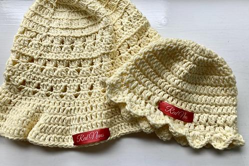 Cotton Crochet Sun Hats