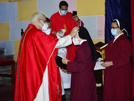 60 years of consecrated life of Sister Maria Paz OSsR
