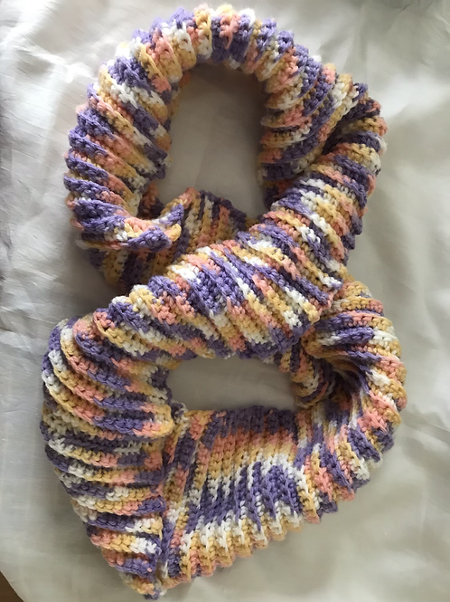 Colourful Crochet Snood