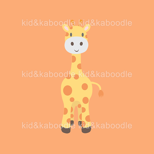 George the Giraffe Print (DIGITAL)